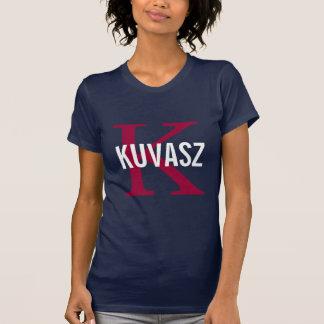 Kuvasz Breed Monogram Design T-shirts