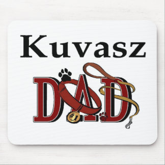 Kuvasz Dad Gifts Mouse Pad