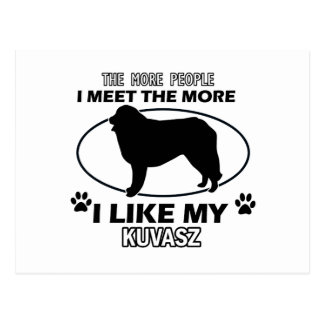 Kuvasz designs and gifts postcard