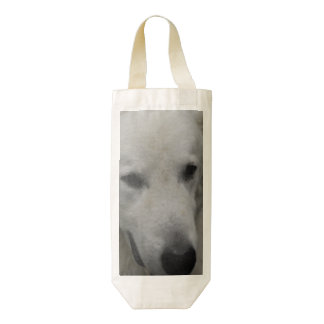 Kuvasz Dog Breed Zazzle HEART Wine Bag