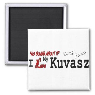 Kuvasz Dog Gifts 2 Inch Square Magnet