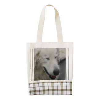 Kuvasz Dog Zazzle HEART Tote Bag