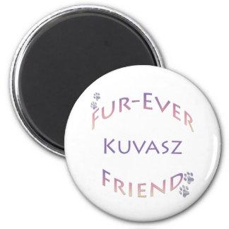Kuvasz Furever 2 Inch Round Magnet