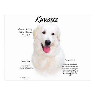 Kuvasz History Design Post Cards