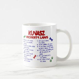 KUVASZ Property Laws 2 Classic White Coffee Mug