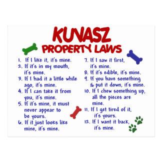 KUVASZ Property Laws 2 Postcard