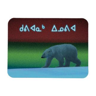 Kuvianak Innovia - Polar Lights Polar Bear Magnet