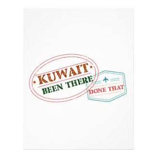 Kuwait Been There Done That Letterhead