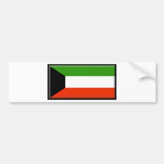 Kuwait Pegatina De Parachoque