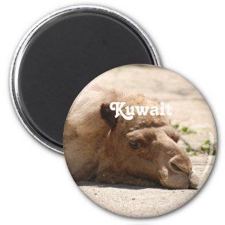 Kuwait Camel 2 Inch Round Magnet