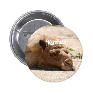 Kuwait Camel Pinback Buttons