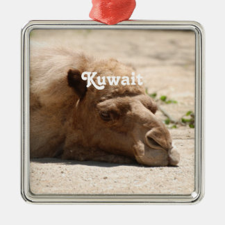 Kuwait Camel Metal Ornament