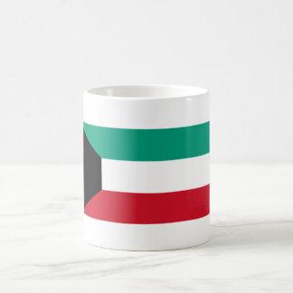 kuwait classic white coffee mug