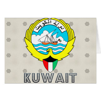 Kuwait Coat of Arms Cards