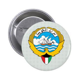 Kuwait Coat of Arms detail Pinback Button