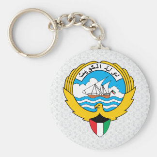 Kuwait Coat of Arms detail Keychains