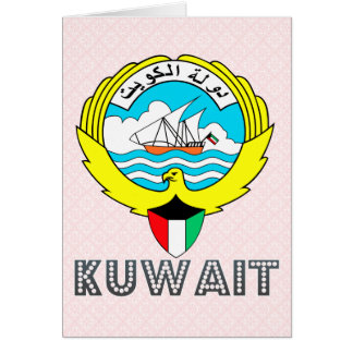 Kuwait Coat of Arms Greeting Cards