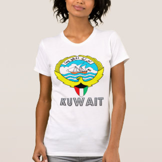 Kuwait Coat of Arms T Shirts