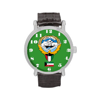 Kuwait* Crest Custom Wristwatch