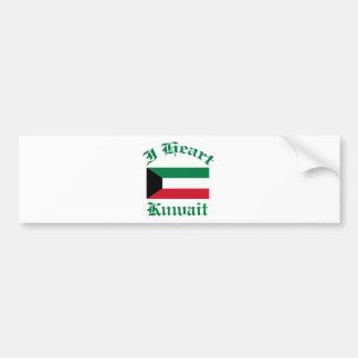 Kuwait Design Car Bumper Sticker