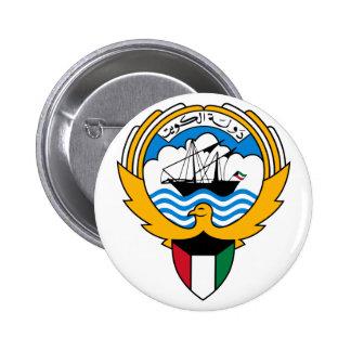 kuwait emblem buttons