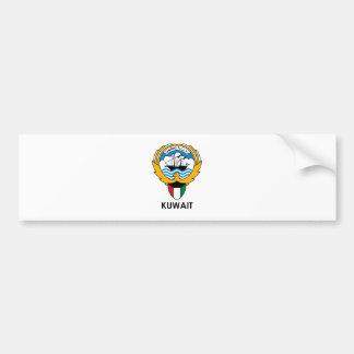 KUWAIT - emblem/flag/coat of arms/symbol Car Bumper Sticker