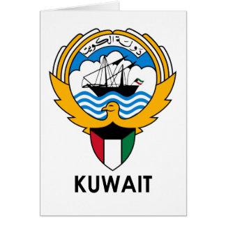 KUWAIT - emblem/flag/coat of arms/symbol Greeting Card