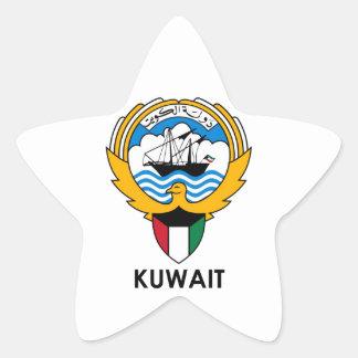 KUWAIT - emblem/flag/coat of arms/symbol Star Sticker