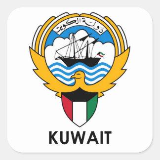 KUWAIT - emblem/flag/coat of arms/symbol Square Sticker