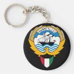 kuwait emblem keychains