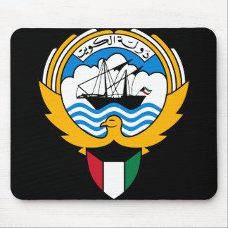 kuwait emblem mouse pad