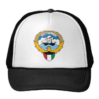 kuwait emblem trucker hat