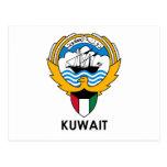 KUWAIT - emblema/bandera/escudo de armas/símbolo Tarjetas Postales