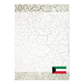 "Kuwait Flag 5"" X 7"" Invitation Card"