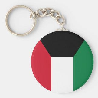 Kuwait Flag Basic Round Button Keychain