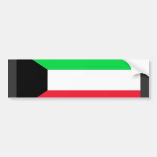 Kuwait Flag Bumper Sticker