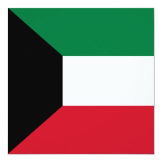 Kuwait Flag Invitation