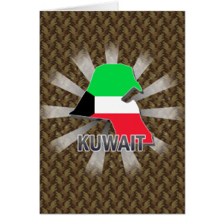 Kuwait Flag Map 2.0 Cards