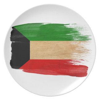 Kuwait Flag Dinner Plate