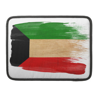 Kuwait Flag Sleeve For MacBook Pro