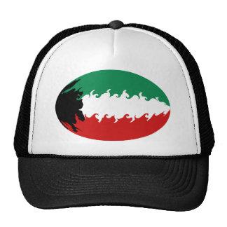 Kuwait Gnarly Flag Hat
