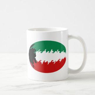 Kuwait Gnarly Flag Hat Mug