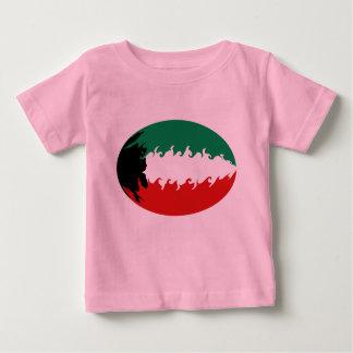 Kuwait Gnarly Flag Kuwait Baby T-Shirt