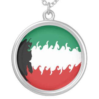 Kuwait Gnarly Flag Custom Jewelry