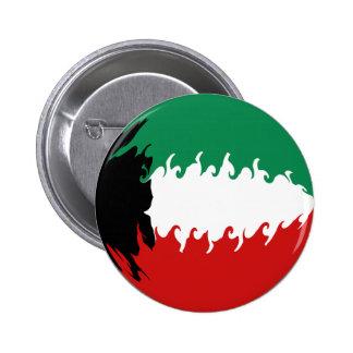 Kuwait Gnarly Flag Pins