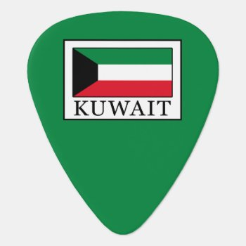 Kuwait Guitar Pick by KellyMagovern at Zazzle