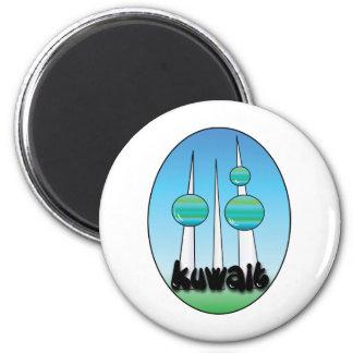 Kuwait Imán Redondo 5 Cm