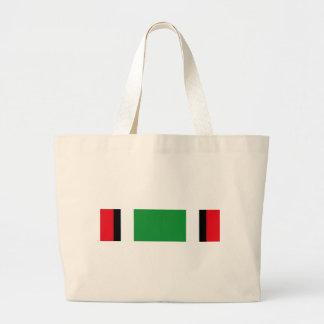 Kuwait Liberation Saudi Ribbon Large Tote Bag