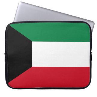 Kuwait National World Flag Laptop Sleeve
