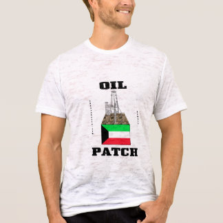 Kuwait Oil Patch,Oil Field T-Shirt,Kuwait Flag,Oil T-Shirt